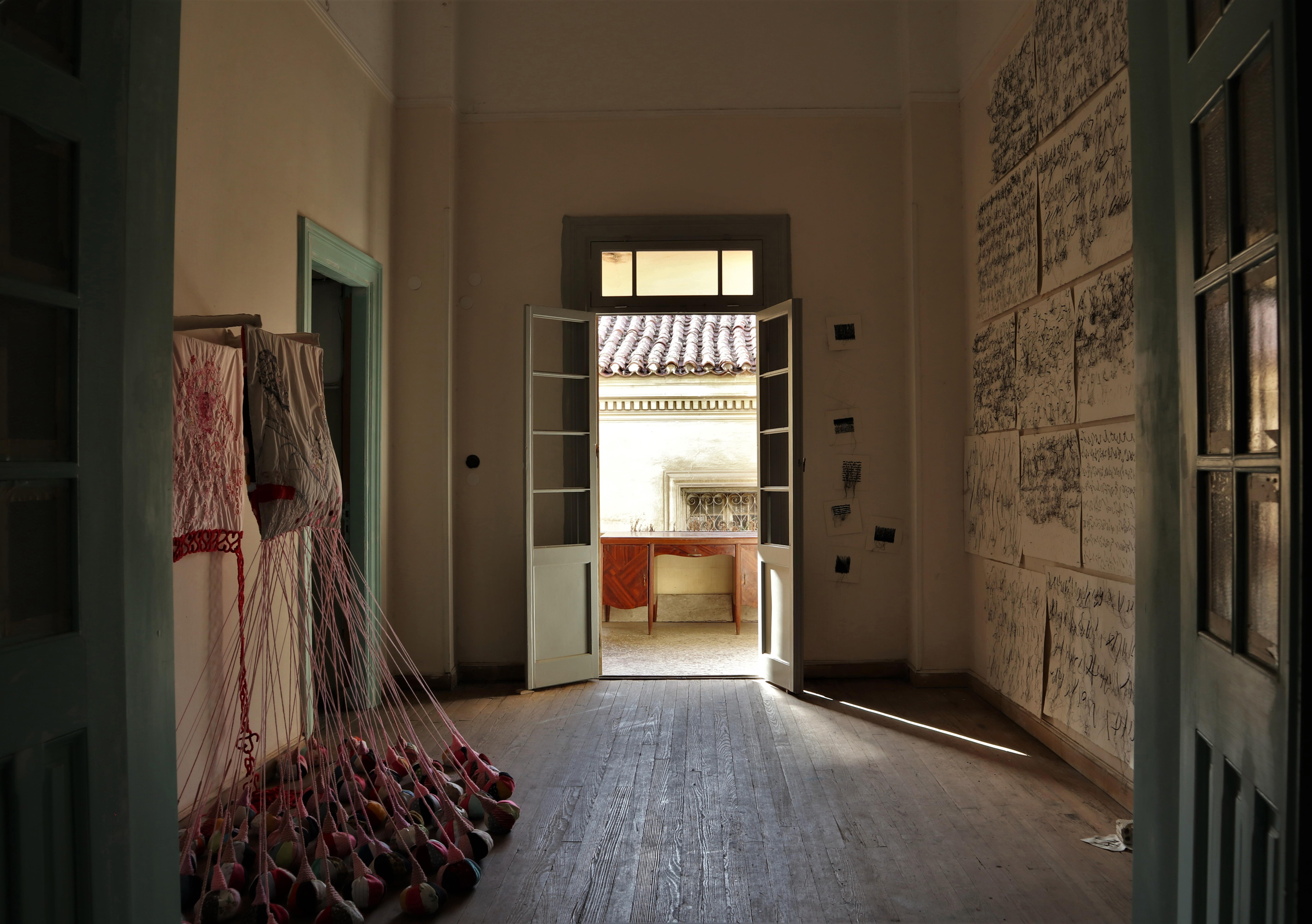 Vana Ntatsouli | Penny Gheka | [un]known destinations chapter III: reconnection ---a second chance | kypseli | athens | 2019 | curator + concept design Kostas Prapoglou ©